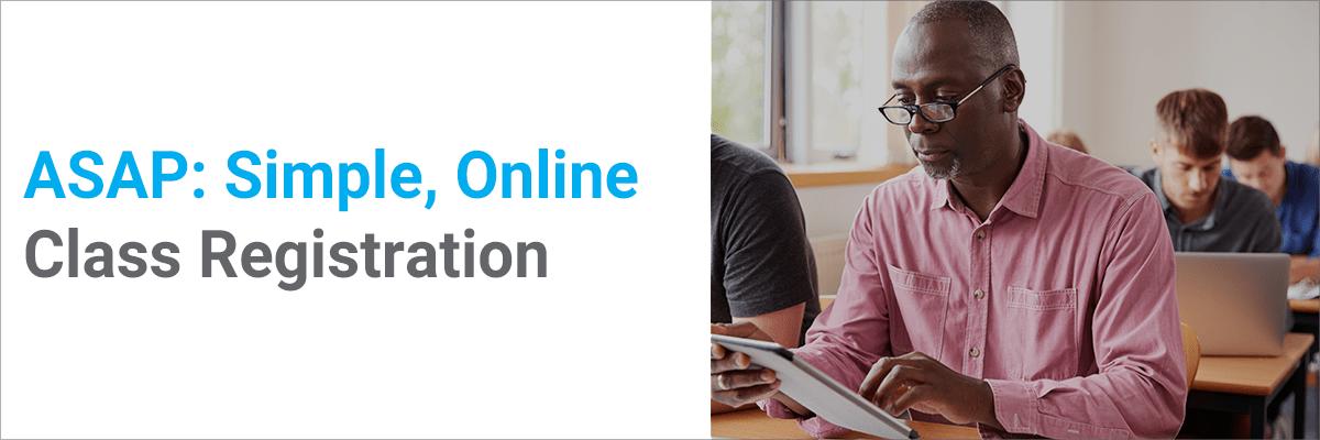 ASAP: Simple, Online Class Registration